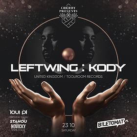 Imprezy: CHERRY PRESENTS: LEFTWING KODY LIVE!