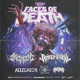 Hard Rock / Metal: Rising Merch Faces Of Death Tour 2021 / Poznań