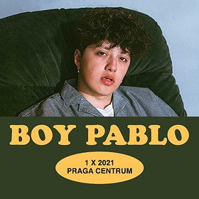 Pop / Rock: Boy Pablo / 1.10.2021 / PRAGA CENTRUM