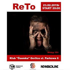 Koncerty: ReTo - Gorlice