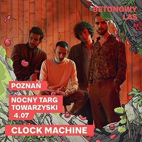 Pop / Rock : CLOCK MACHINE | BETONOWY LAS