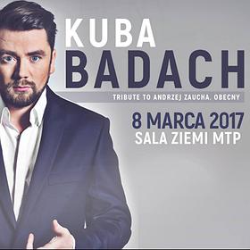 Koncerty: KUBA BADACH, TRIBUTE TO ANDRZEJ ZAUCHA. OBECNY