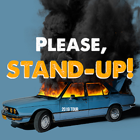 Stand-up: Please, stand-up! Gdańsk