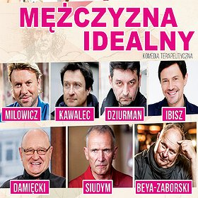 Teatry: Mężczyzna idealny - komedia terapeutyczna