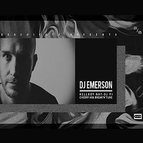 Clubbing: Geschichte: Dj Emerson (CLR / Micro.fon) / Berlin