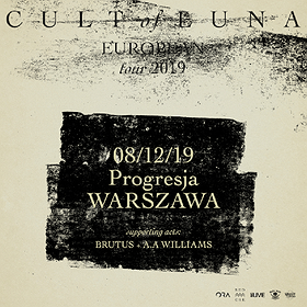 Hard Rock / Metal: Cult Of Luna + Brutus, A.A. Williams