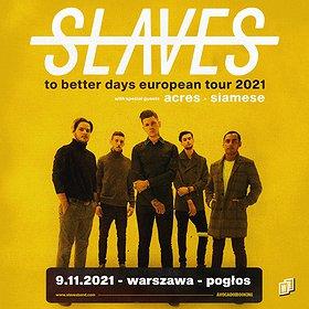 Hard Rock / Metal: Slaves | Warszawa