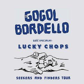 Concerts: Gogol Bordello, Gość specjalny: Lucky Chops