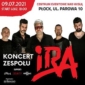 Pop / Rock: IRA + supporty -  ZMIANA TERMINU