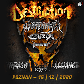 Hard Rock / Metal: Destruction - koncert odwołany