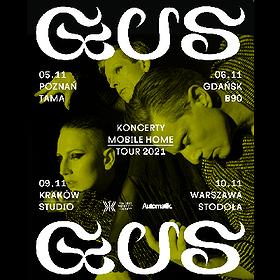 Muzyka klubowa: GusGus | Poznań