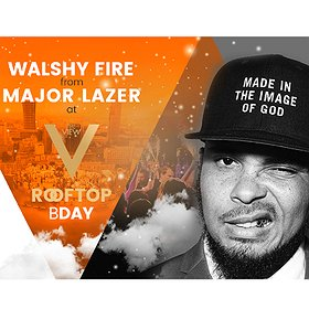 Imprezy: Walshy Fire from MAJOR LAZER at The View 4th Birthday with Moet!
