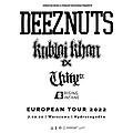 Hard Rock / Metal: DEEZ NUTS + Kublai Khan TX, Unity TX, Rising Insane, Warszawa