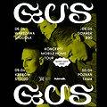 Muzyka klubowa: GusGus | Warszawa, Warszawa