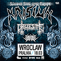 Hard Rock / Metal: Krisiun + Gruesome, Vitriol, Wrocław