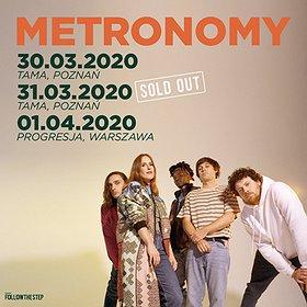 Koncerty: Metronomy / Poznań - II termin