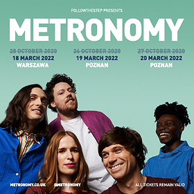 Concerts: Metronomy / Poznań - II termin