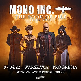 Koncerty: MONO INC. | Warszawa