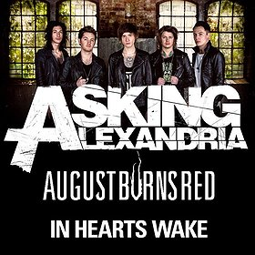 Concerts: Asking Alexandria + August Burns Red + In Hearts Wake