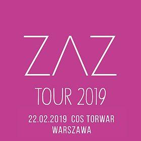 Koncerty: ZAZ - Warszawa
