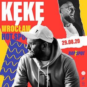 Hip Hop / Reggae: KęKę | 29.08 | HotSpot, Wrocław