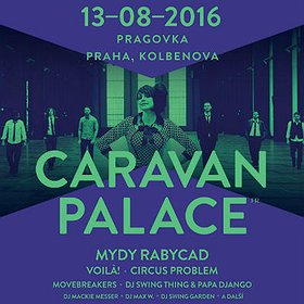 Koncerty: CARAVAN PALACE - SWING ME PRAGUE