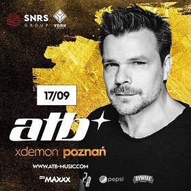 Muzyka klubowa: ATB // X-Demon Poznań