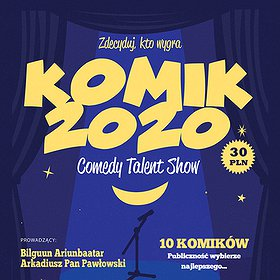 Stand-up: Komik 2020 Poznań