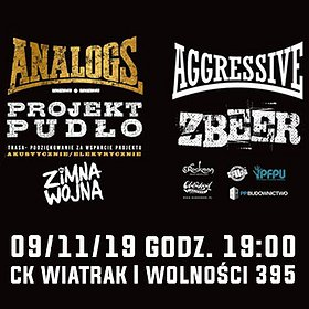 Hard Rock / Metal: The Analogs, Aggressive, Zbeer, Zimna Wojna