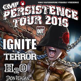 Koncerty: Persistence Tour 2016: Ignite, Terror, H2O