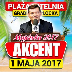 Koncerty: Majówka 2017 na Plaży Patelnia