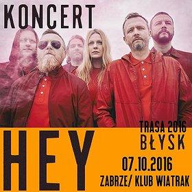 """Koncerty: HEY, Trasa promująca płytę """"BŁYSK"""""""