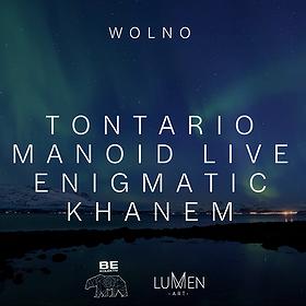 Muzyka klubowa: WOLNO #1: Tontario / Manoid