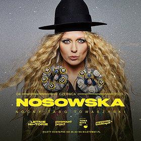 Pop / Rock : Nosowska - Poznań | Nocny Targ Towarzyski