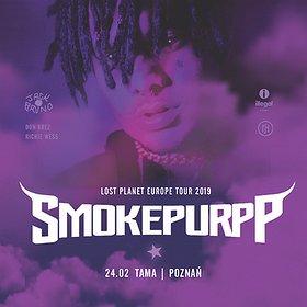 Koncerty: SMOKEPURPP - Poznań