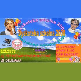Imprezy: Dyskoteka Szkolna 2000 | Urodzinowe MELO