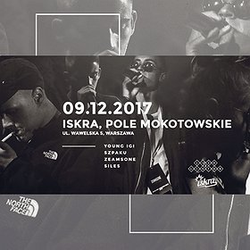 Koncerty: YOUNG IGI / SZPAKU / ZEAMSONE / SILES @ ISKRA