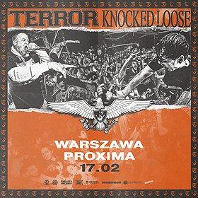 Hard Rock / Metal: Terror + Knocked Loose   Warszawa