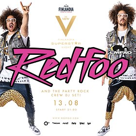 Events: REDFOO AND THE PARTY ROCK CREW (USA)