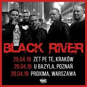 Koncerty: BLACK RIVER - Warszawa