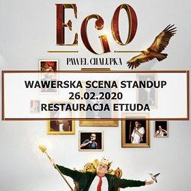"""Stand-up: Wawerska scena stand-up: Paweł Chałupka """"Ego"""""""