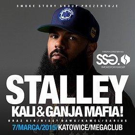 Koncerty: STALLEY x KALI & GANJA MAFIA w Katowicach