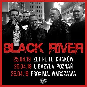 Koncerty: BLACK RIVER - Poznań