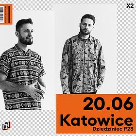 Hip Hop / Reggae: Dwa Sławy  | P23, Dziedziniec Fabryki Porcelany | Katowice