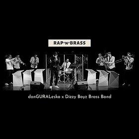 Hip Hop / Reggae: RAP'n'BRASS | donGURALesko x Dizzy Boyz Brass Band | Plener Promienista