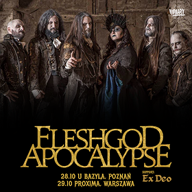 Hard Rock / Metal : Fleshgod Apocalypse / Poznań