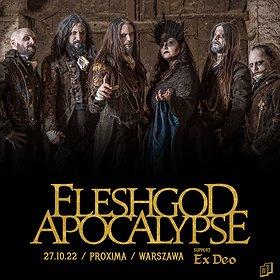 Hard Rock / Metal: Fleshgod Apocalypse / Warszawa