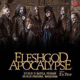 Hard Rock / Metal : Fleshgod Apocalypse / Warszawa