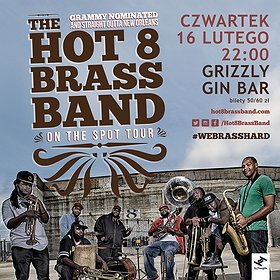 Koncerty: The Hot 8 Brass Band