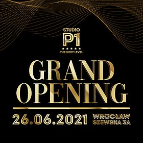 Muzyka klubowa: Grand Opening- Studio P1 The Next Level
